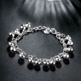 Chain Bracelet with Silver Globe