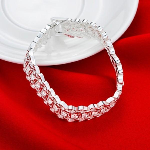 Another Silver Euro Wide Version Bracelet Women\'S Bracelet