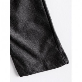 V-Neck Three Quarter Sleeve Gray Cardigan