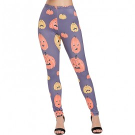 Halloween Cartoon Pumpkins Pants